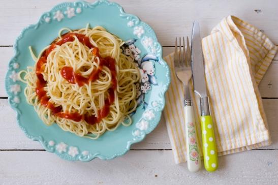 Spaghetti med Ketchup 3