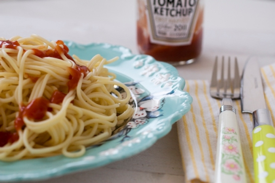 Spaghetti med Ketchup 2